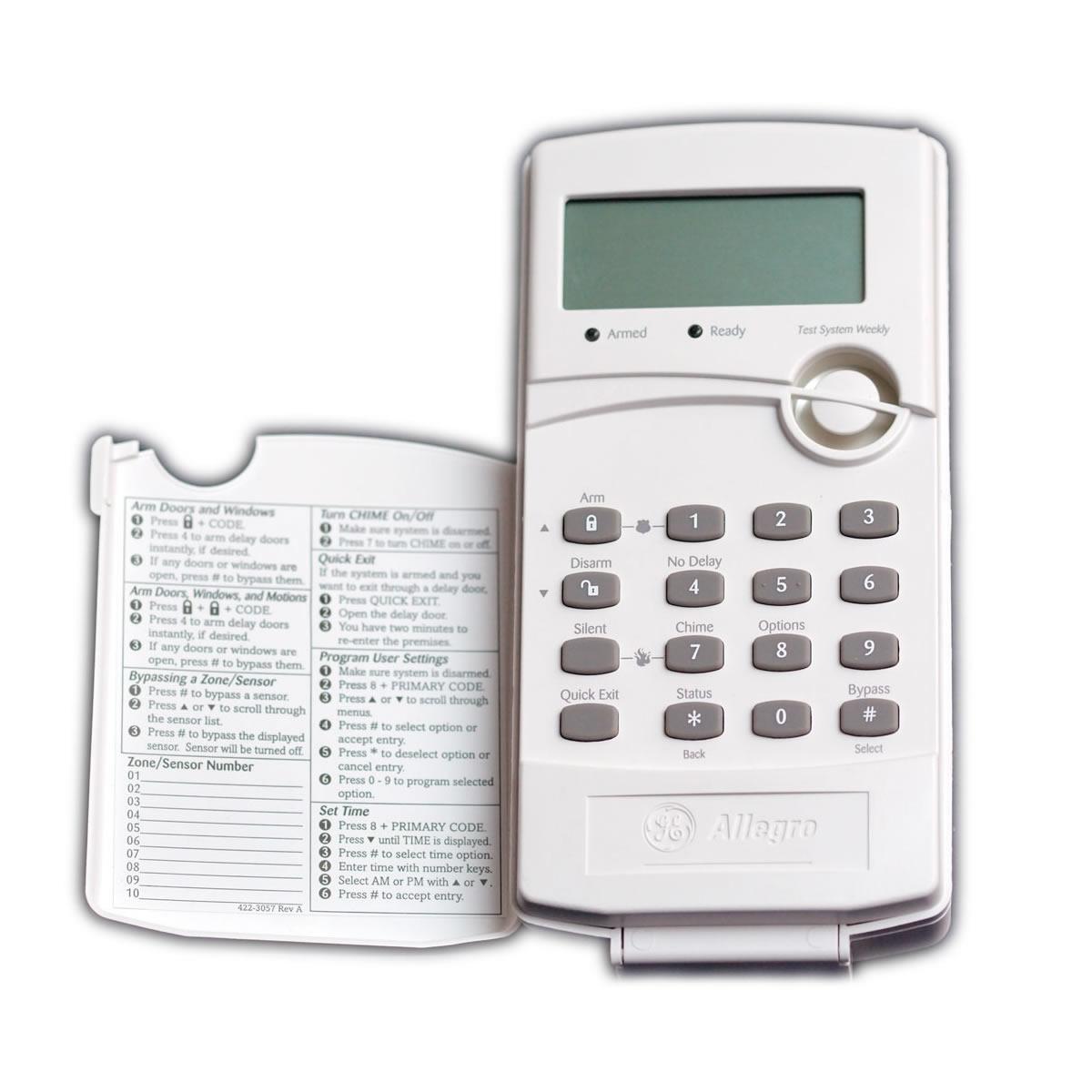 Ge Alarm Keypad Manual Bing Images